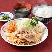 生姜焼定食|長岡市の美味しい餃子・ラーメン・定食 金子屋