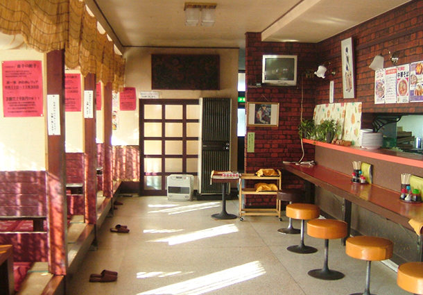 長岡市金子屋下条店店内|長岡市の美味しい餃子・ラーメン・定食 金子屋