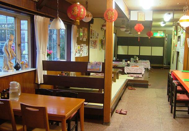 長岡市金子屋蓮潟店店内|長岡市の美味しい餃子・ラーメン・定食 金子屋