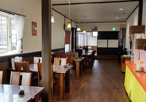 長岡市金子屋大島店店内|長岡市の美味しい餃子・ラーメン・定食 金子屋