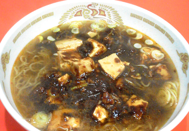 長岡市金子屋山田本店の麻婆麺|長岡市の美味しい餃子・ラーメン・定食 金子屋