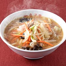 長岡市金子屋「味噌ラーメン」の画像